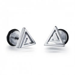 Titanium steel earrings TE020
