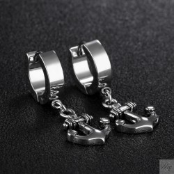 Titanium steel earrings TE242