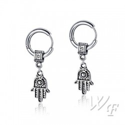 Titanium steel earrings TE262