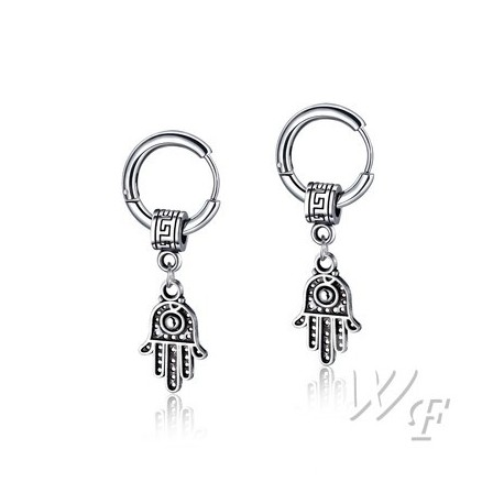 Titanium steel earrings TE214