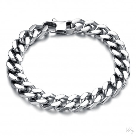 Titanium steel bangle TMB099