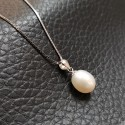 925 Silver Freshwater Pearl Necklace SN082