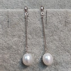 925 Silver Freshwater Pearl Earrings SEP032