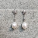925 Silver Freshwater Pearl Earrings SEP047