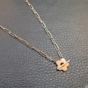 Titanium steel necklace TN726