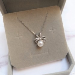 925 Silver Freshwater Pearl Necklace SN109