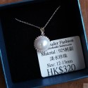 925 Silver Fresh Water Pearl Necklace SN147