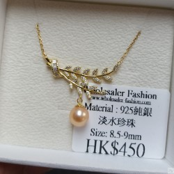 925 Silver Fresh Water Pearl Necklace SN171