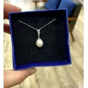 925 Silver Fresh Water Pearl Necklace SN195