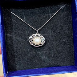 925 Silver Fresh water pearl Necklace SN224