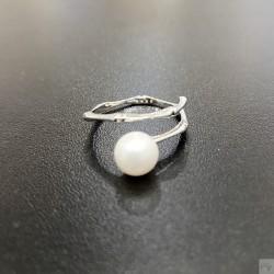 925 純銀淡水珍珠珠戒指 SR091