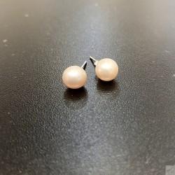 925純銀淡水珍珠耳環 SEP217