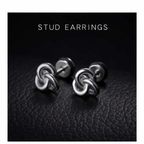 Titanium steel earrings TE003