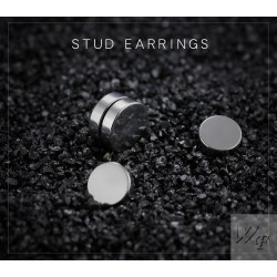 Titanium steel earrings TE072