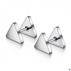 Titanium steel earrings TE038